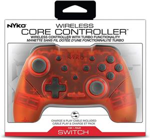 Controller Nyko Wireless Core Red Nintendo Switch