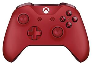 Controller Wireless MICROSOFT cu Jack Stereo 3.5 mm Red Xbox One
