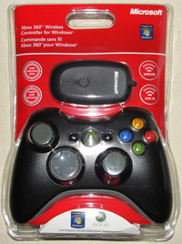 Controller Xbox 360 Compatibil Pc Wireless Black