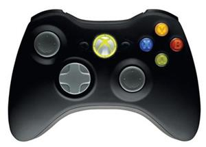 Controller Xbox360 And Windows Wireless Black