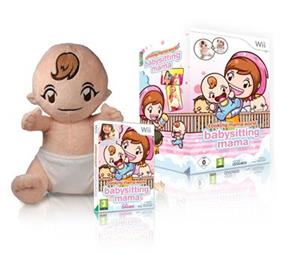 Cooking Mama World Babysitting Mama With Doll Nintendo Wii