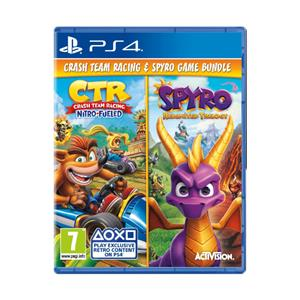CTR And Spyro Reignited Trilogy Double Pack PS4