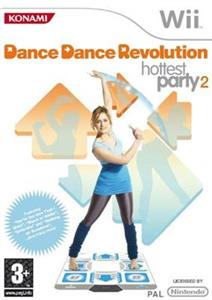 Dance Dance Revolution Hottest Party 2 Nintendo Wii