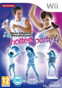 Dance Dance Revolution Hottest Party 4 Nintendo Wii
