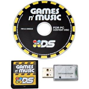 Datel Games N Music Nintendo DS / DS Lite