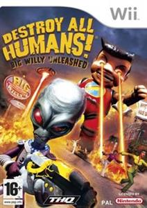 Destroy All Humans 3! Big Willy Unleashed Nintendo Wii