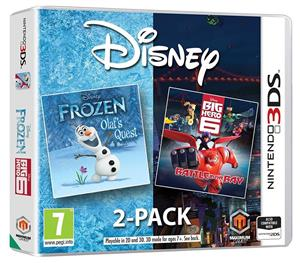 Disney's Frozen & Big Hero 6 Double Pack Nintendo DS