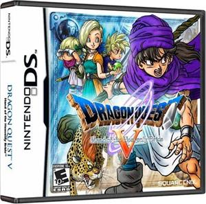 Dragon Quest V Hand of the Heavenly Bride Nintendo DS