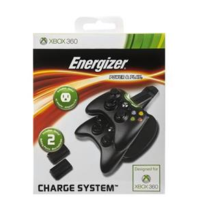 Energizer 2x Conductive Charging System PDP Xbox360