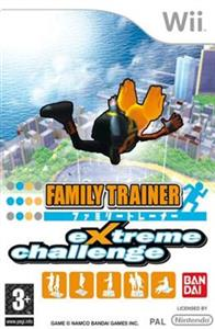 Family Trainer Extreme Challenge Nintendo Wii