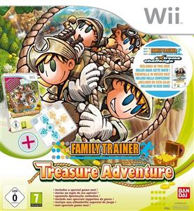 Family Trainer Treasure Adventure Standalone Game Nintendo Wii