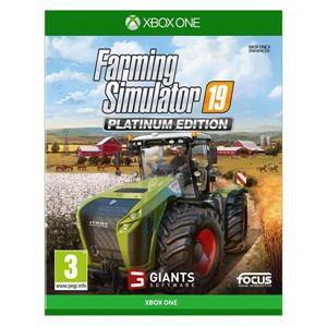 Farming Simulator 19 Platinum Edition Xbox One