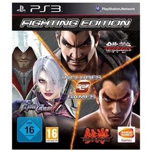 Fighting Complete Tekken 6 + Soulcalibur 5 + Tekken Tag Tournament 2 PS3