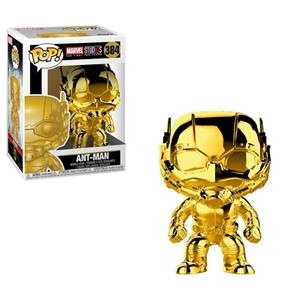 Figurina POP The First Ten Years Ant Man Chrome