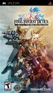 Final Fantasy Tactics The War Of The Lions Psp