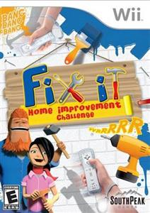 Fix It Home Improvement Challenge Wii