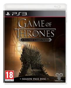 Game of Thrones A Telltale Games Series Season Pass Disc PS3