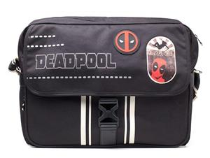 Geanta Deadpool Icon Placement Printed Solid Messenger Bag