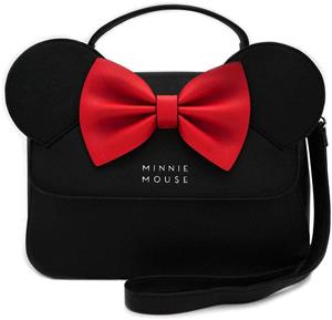 Geanta Gaming Loungefly Minnie Crossbody With Ears And Bow Bag