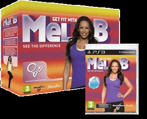 Get Fit with Mel B with Resistance Band (Move) PS3