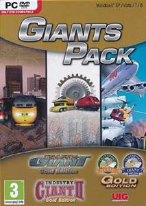 Giants Pack Traffic Giant Gold Plus Traffic Giant 2 Gold Plus Industry Giant Gold Pc
