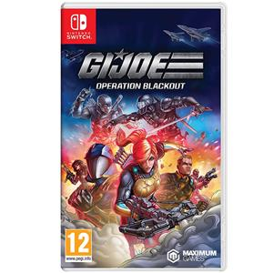 GIJOE Operation Blackout Nintendo Switch