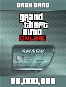 Grand Theft Auto V Megalodon Card (Social Club Code Only)