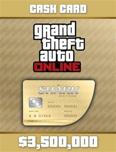 Grand Theft Auto V Whale Shark Card (Social Club Code Only)