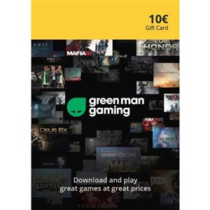Green Man Gaming Giftcard 10 Euro (GMG Code)