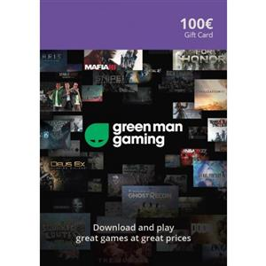 Green Man Gaming Giftcard 100 Euro (GMG Code)