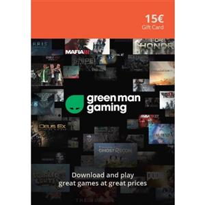 Green Man Gaming Giftcard 15 Euro (GMG Code)