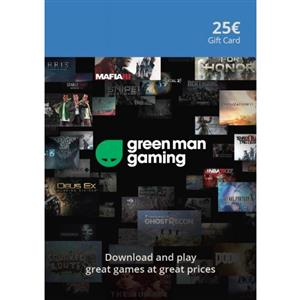 Green Man Gaming Giftcard 25 Euro (GMG Code)