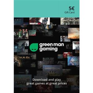 Green Man Gaming Giftcard 5 Euro (GMG Code)
