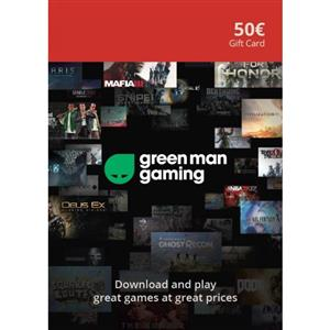 Green Man Gaming Giftcard 50 Euro (GMG Code)