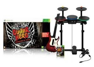 Guitar Hero 6 Warriors of Rock Full Bundle Xbox360