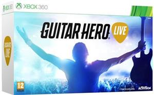 Guitar Hero Live With Guitar Controller Xbox360
