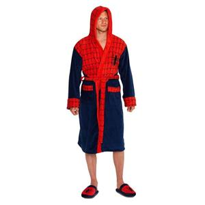 Halat De Baie Marvel Spiderman Outfit Red Navy Web Robe