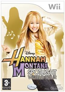 Hannah Montana Spotlight World Tour Nintendo Wii