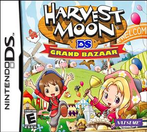 Harvest Moon Grand Bazaar Nintendo DS