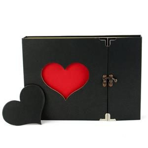 Heart Scrapbook With Gift Box | Pukkr