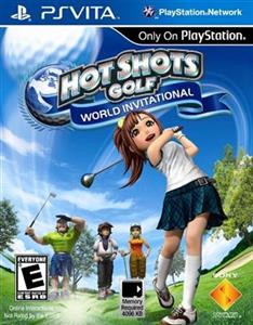 Hot Shots Golf World Invitational PS Vita
