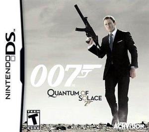 James Bond Quantum Of Solace Nintendo Ds