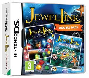 Jewel Link Double Pack Atlantic Quest and Galactic Quest Nintendo DS