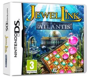 Jewel Link Legends Of Atlantis Nintendo Ds