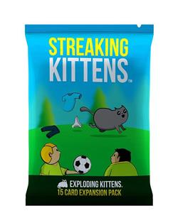 Joc Exploding Kittens Streaking Kittens Expansion