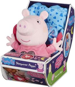 Jucarie Peppa Pig Sleepover Peppa Plush Set