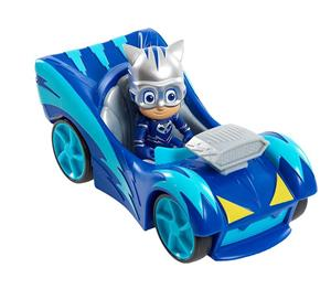 Jucarie PJ Masks Cat Car Speed Booster Vehicle & Figure