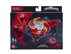 Jucarie Power Rangers Super Ninja Steel Lion Fire Morpher