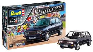 Jucarie Vw Golf Gti Pirelli 35 Years 1:24 Revell Model Kit