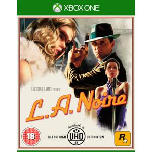 LA Noire Remastered Xbox One